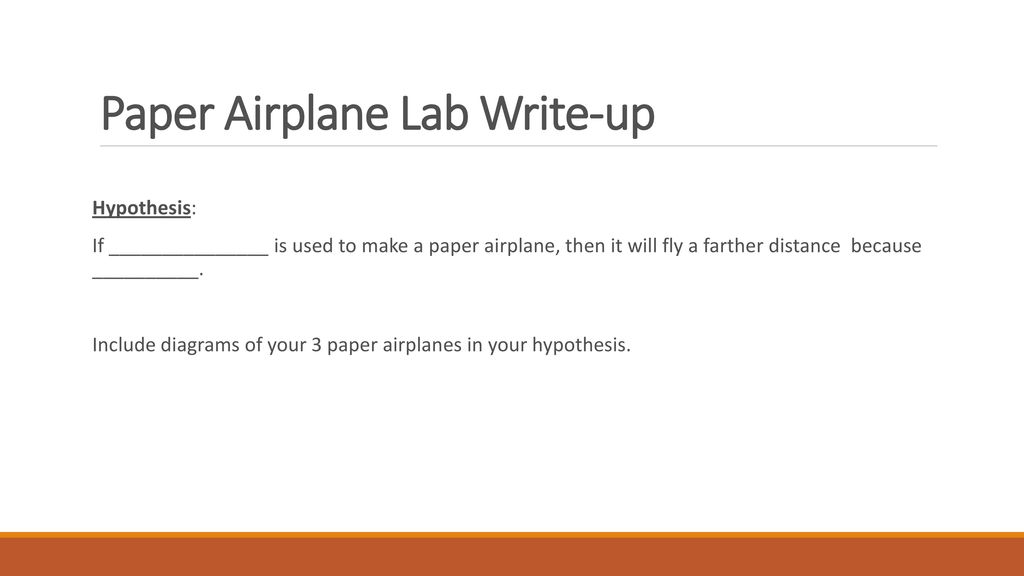 Enjoyable Paper Airplane Lab Question How Does The Weight Of A Paper Airplane Wiring Digital Resources Kookcompassionincorg