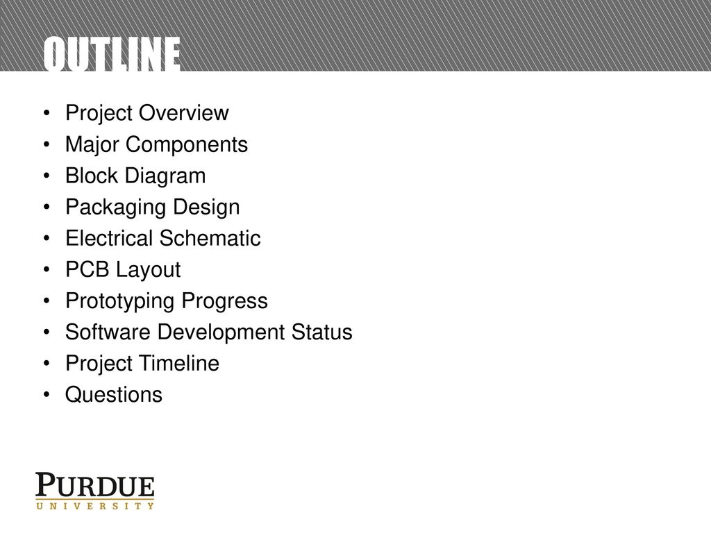 Ece477 Midterm Design Review Team 8 Ppt Download Electrical Diagram Questions Outline Project Overview Major Components Block