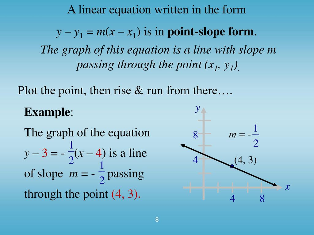 Linear Equations in Two Variables - ppt download