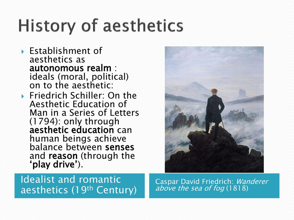 schiller aesthetic education summary