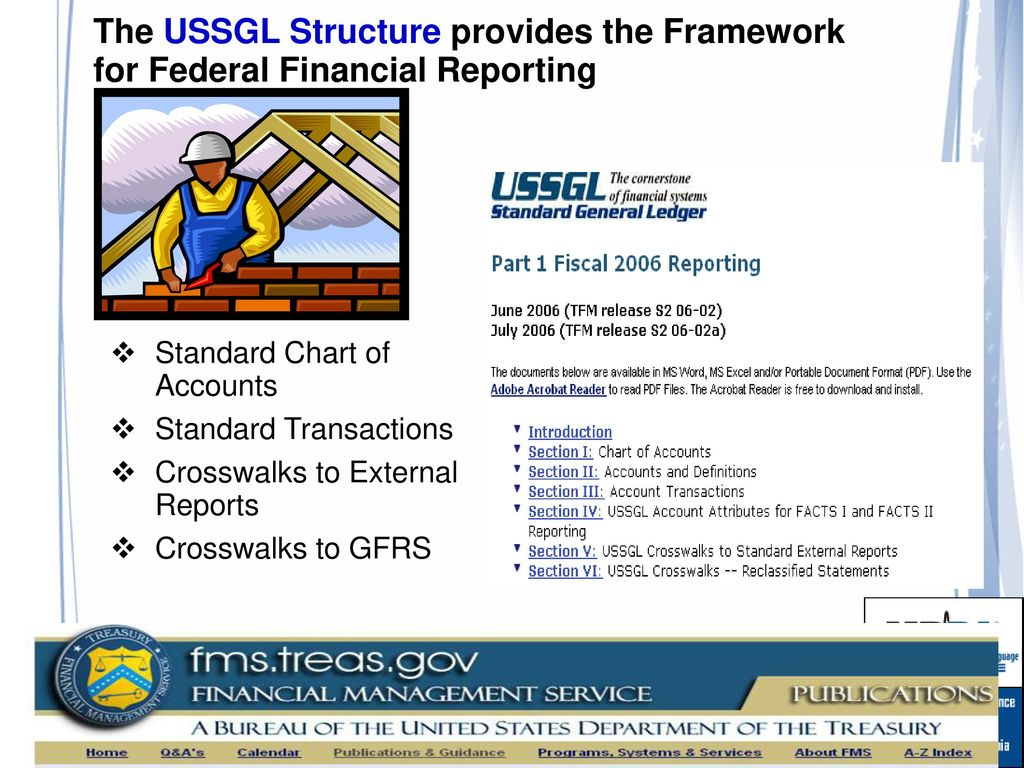 The Ussgl Structure Provides Framework For Federal Financial Reporting 29 Standard Chart Of Accounts