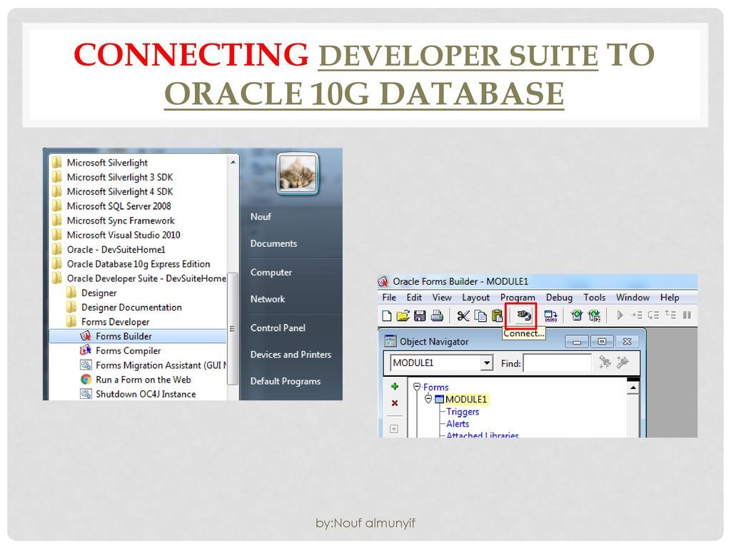 Download and install Oracle Developer Suite 10g & Developer suite