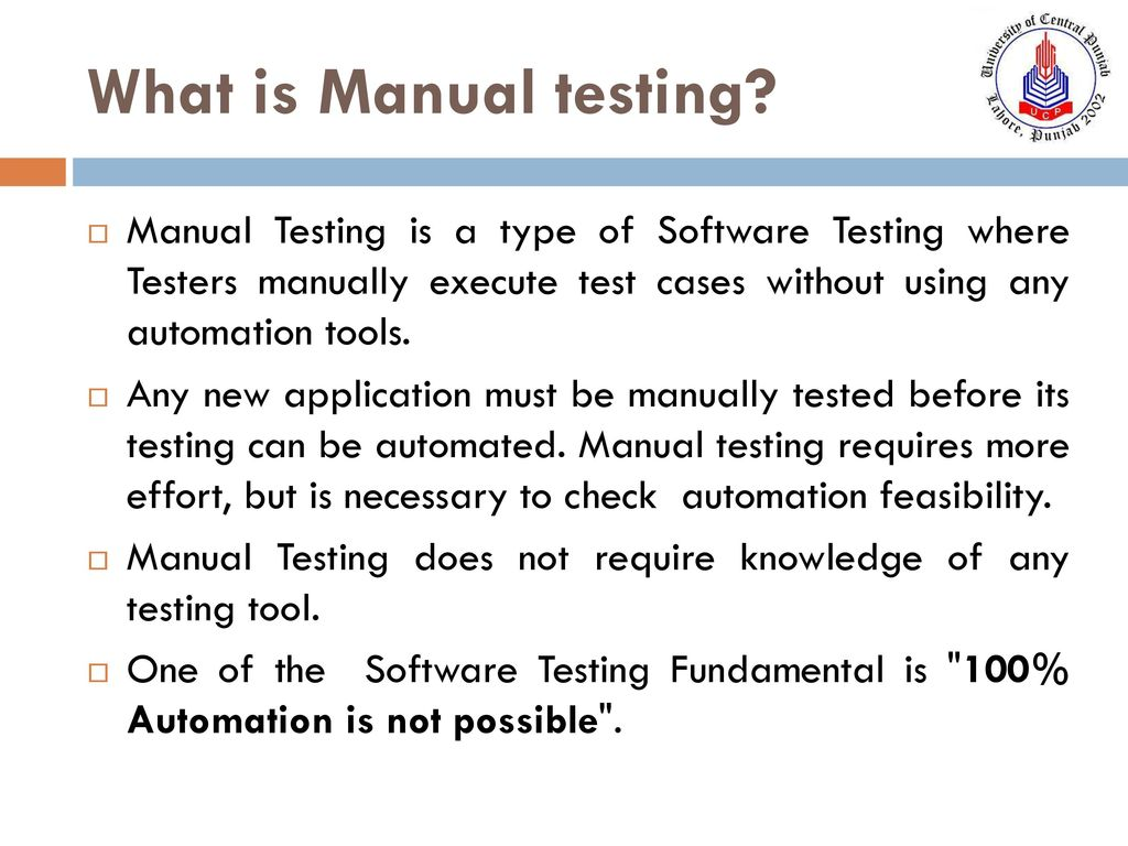 Software Testing  - ppt download
