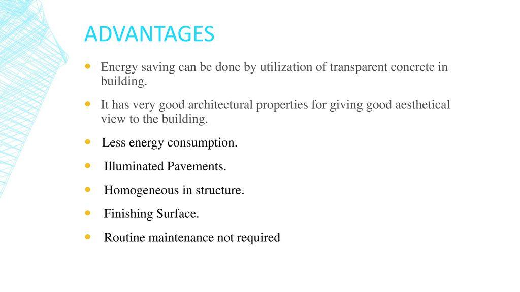 Light Transmitting Concrete - ppt download