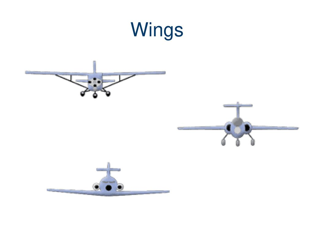 Parts Of An Aircraft Airplane Ppt Download 10 Wings
