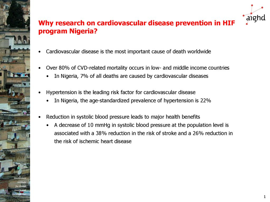 Impact and costing of cardiovascular disease treatmentin