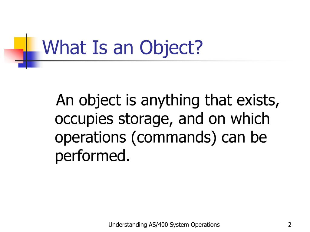 Objects, Libraries, and Library Lists - ppt download