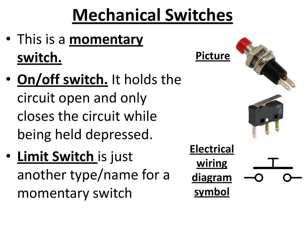 Electronics Part 4 Electrical Components Ppt Download Key Switch Symbol New Wiring Diagram Image 12