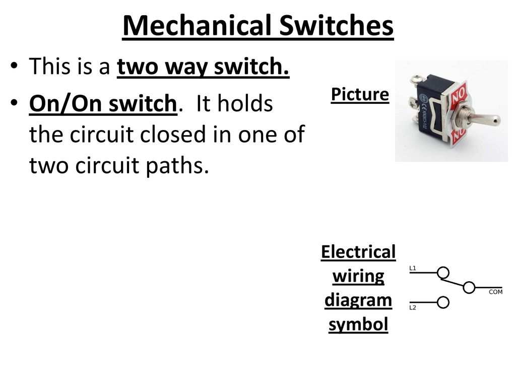 Electronics Part 4 Electrical Components Ppt Download Switch Symbol Wiring Diagram