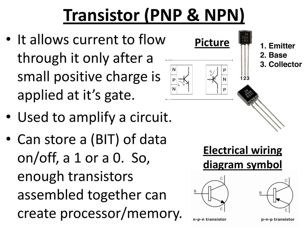 Electronics Part 4 Electrical Components Ppt Download Transistor Wiring Diagram Symbol