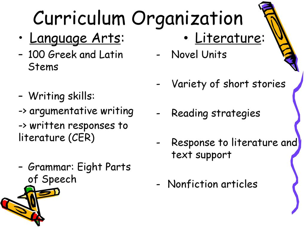 6th Grade Language Arts and Literature - ppt download