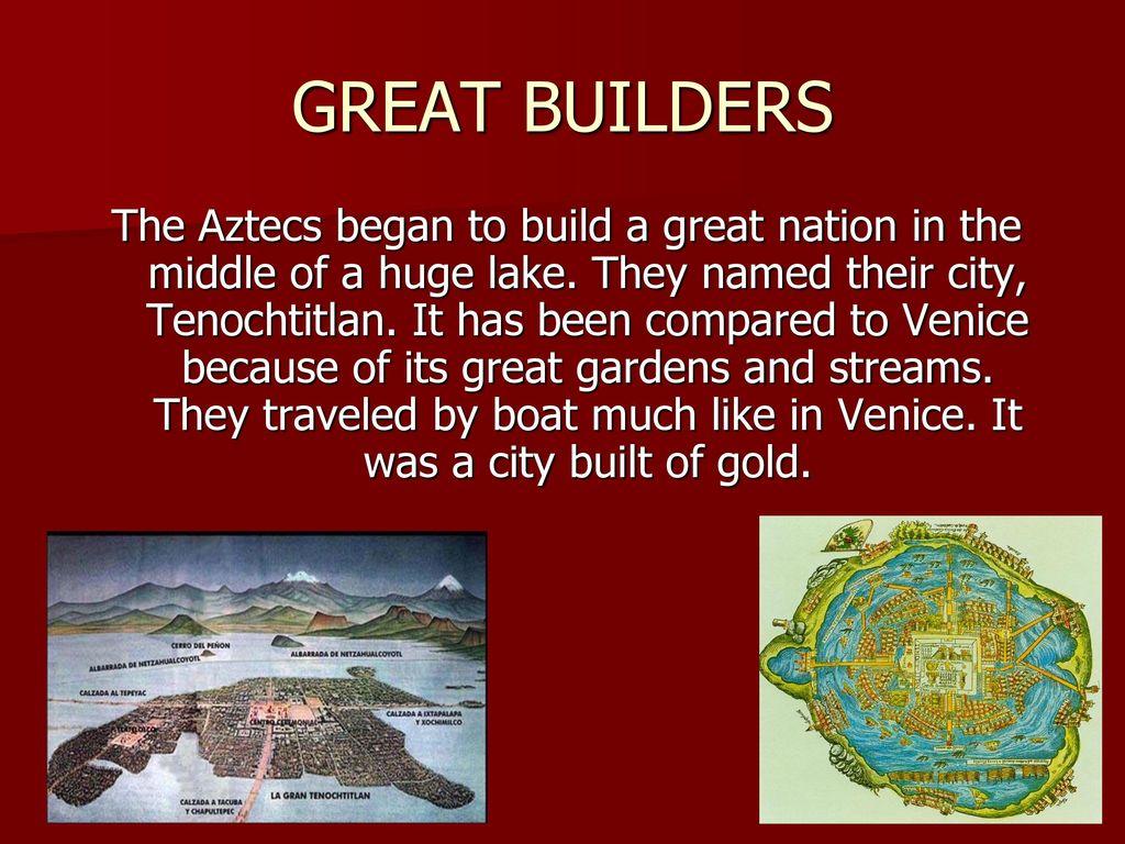 THE AZTECS. - ppt download