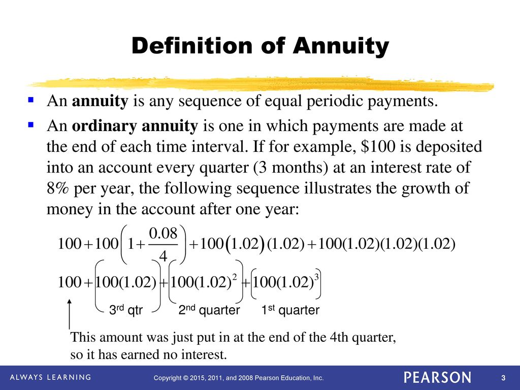 chapter 3 mathematics of finance - ppt download
