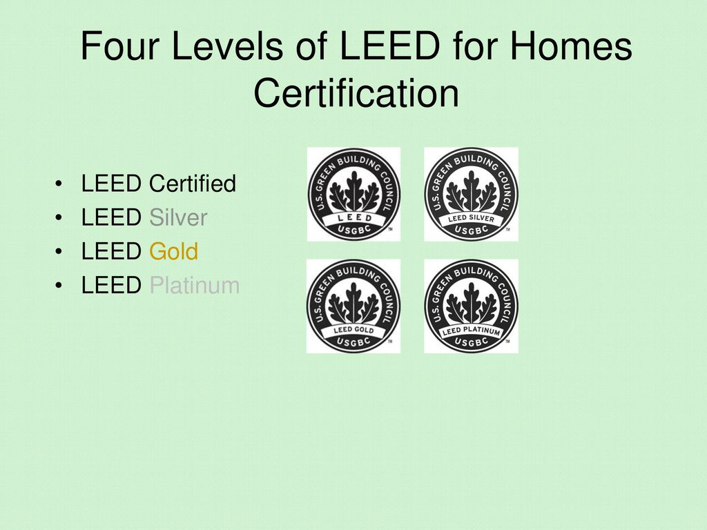 Leed Defined Leadership In Energy And Environmental Design Ppt