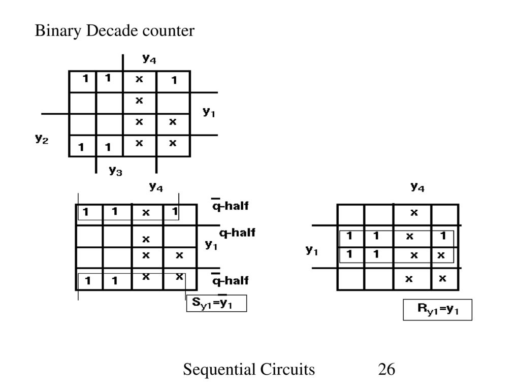 Sequential Circuits Ppt Decade Counter Circuit Diagram 26 Binary