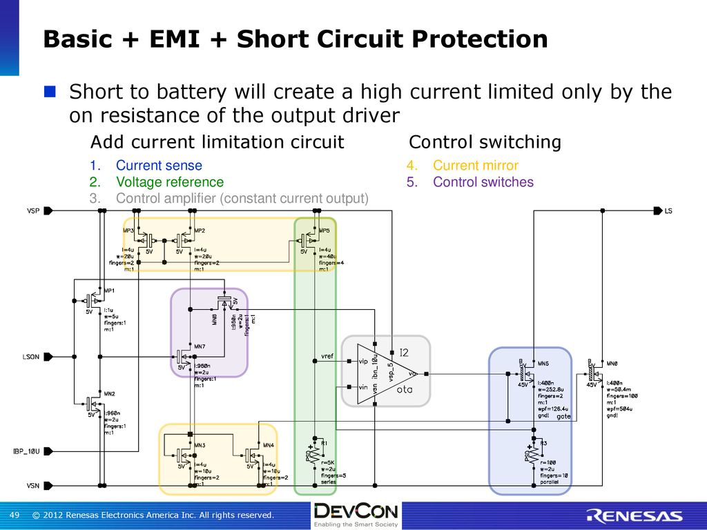 Insights Into Mcu Mixed Signal Design Ppt Download Short Circuit Protection Buy Battery Basic Emi