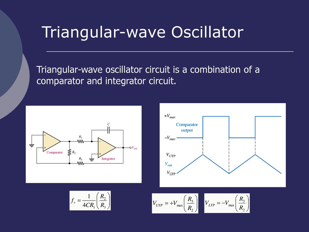En Rosemizi Bin Abd Rahim Ppt Download Comparator To Make A Square Wave Oscillator The Circuit Is Below 45 Triangular