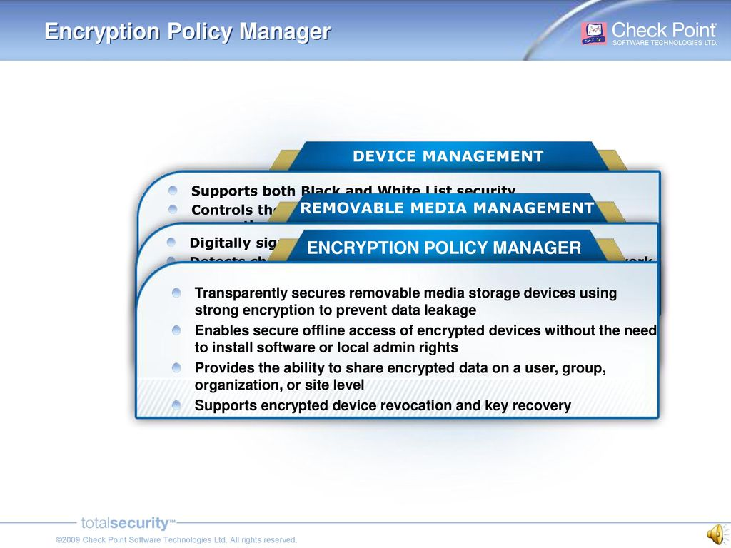 Check Point Endpoint Security Media Encryption Ppt Download