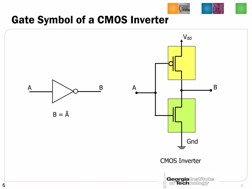 Cmos Inverter Symbol Mosfets And Elec2210 V10 Documentation Ece2030 Introduction To Computer Engineering Lecture 4 Network