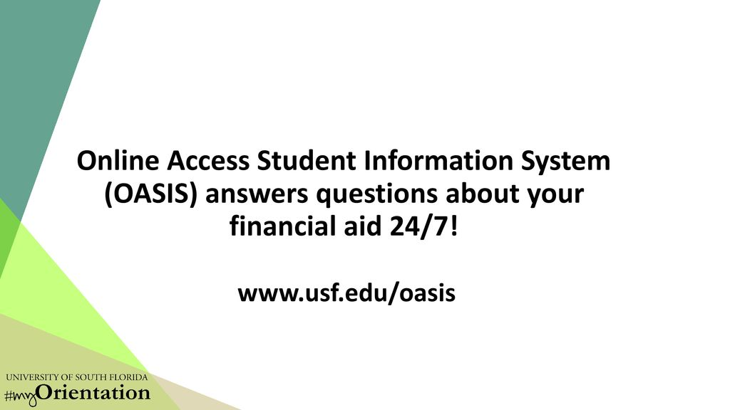 Money Matters: Financial Aid Process - ppt download