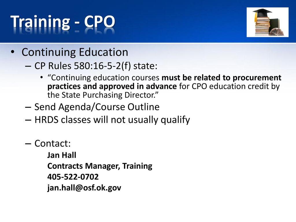 Certified Procurement Officer - ppt download