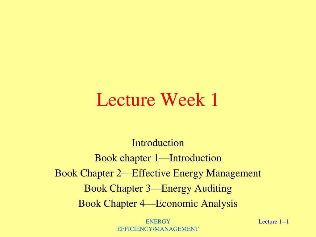 Lecture Week 1 Introduction Book chapter 1—Introduction - ppt download
