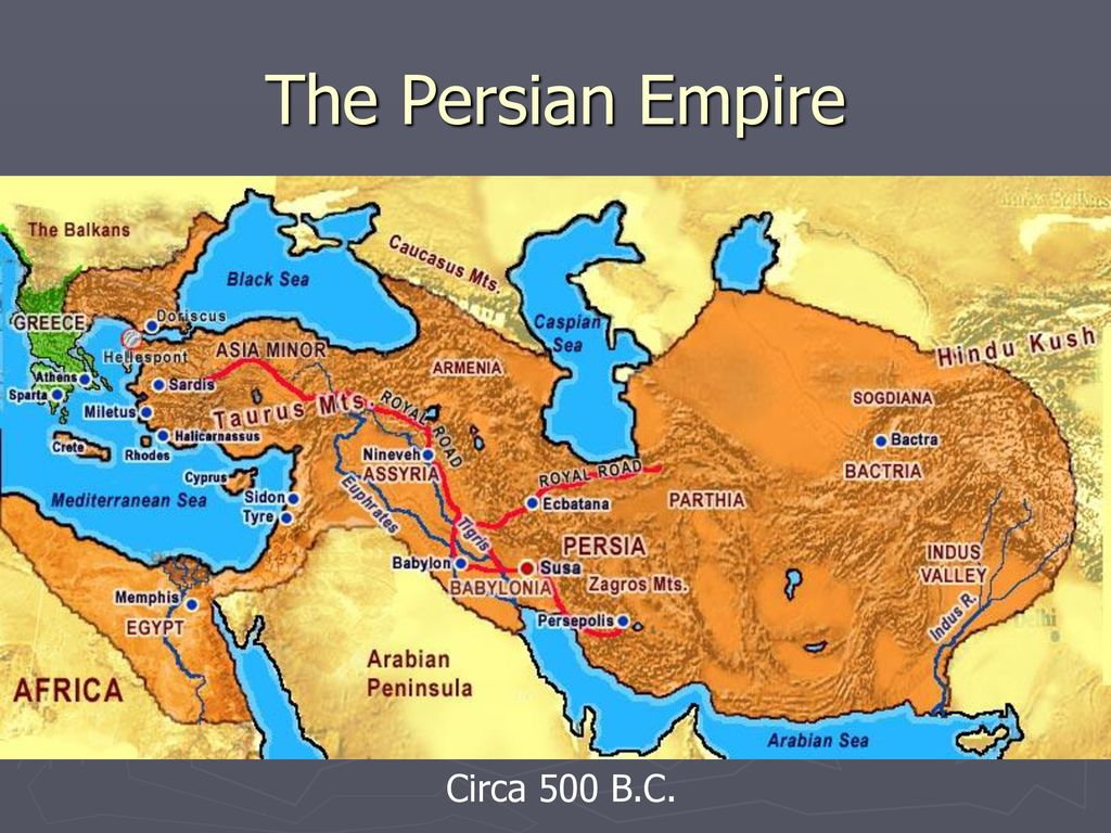 Ancient Greece Map Persian Empire.Ancient Greece 4 3 Persia Attacks The Greeks Ppt Download