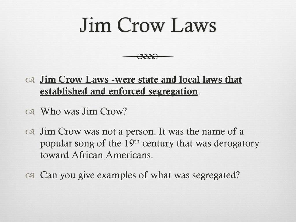 who was jim crow - HD1024×768