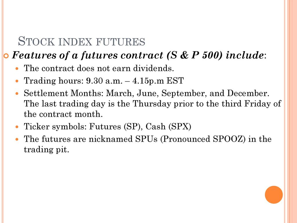 Hedging Strategies Using Futures Ppt Download