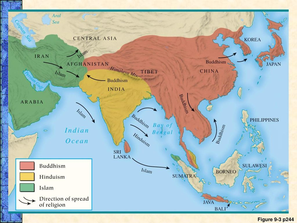 how did hinduism spread to southeast asia