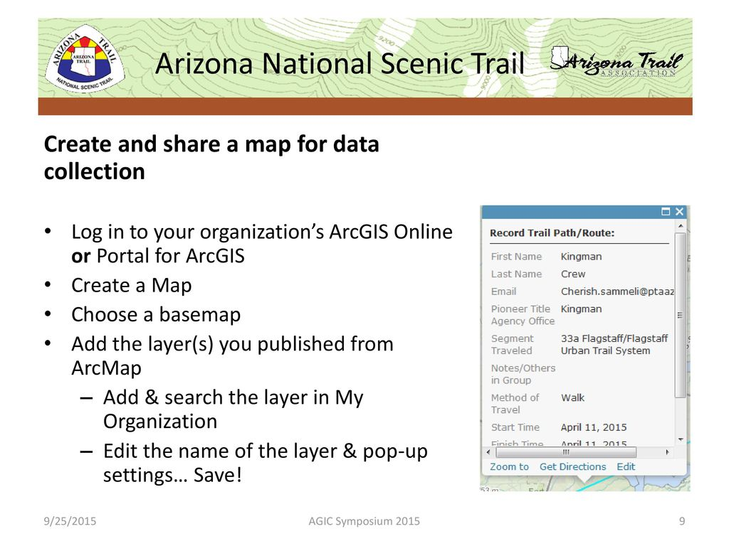 Arizona National Scenic Trail - ppt download