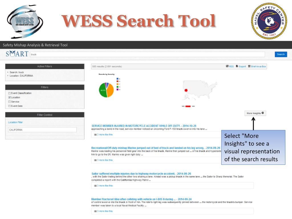 Safety Mishap Analysis Retrieval Tool Smart Ppt Download Classification Of Active Filters 13 Select