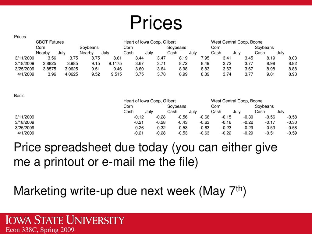 Assistant Professor/Grain Markets Specialist - ppt download