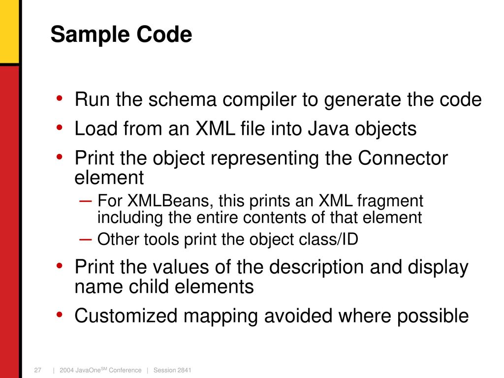 JavaTM Technology to XML Binding Tools - ppt download