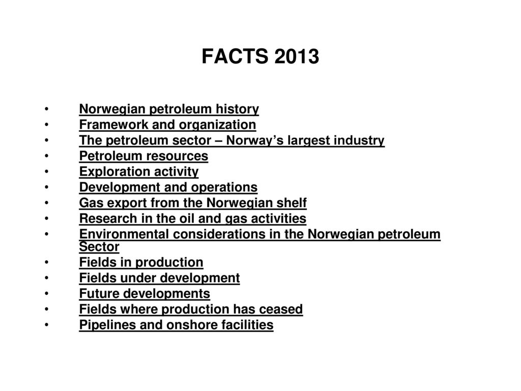 TPG 4140 NTNU Natural Gas in Norway - ppt download