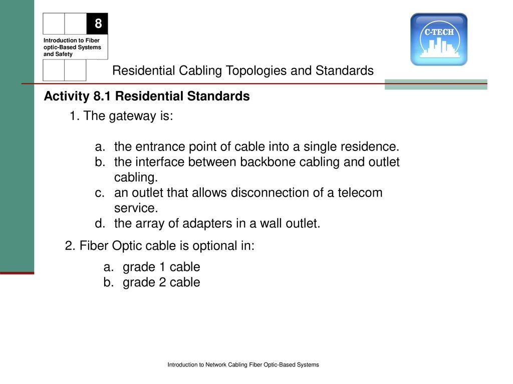 INTRODUCTION TO NETWORK CABLING - ppt download