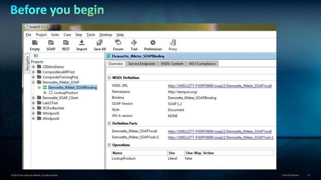 Data Virtualization Demoette… JMeter Load Testing CIS SOAP - ppt
