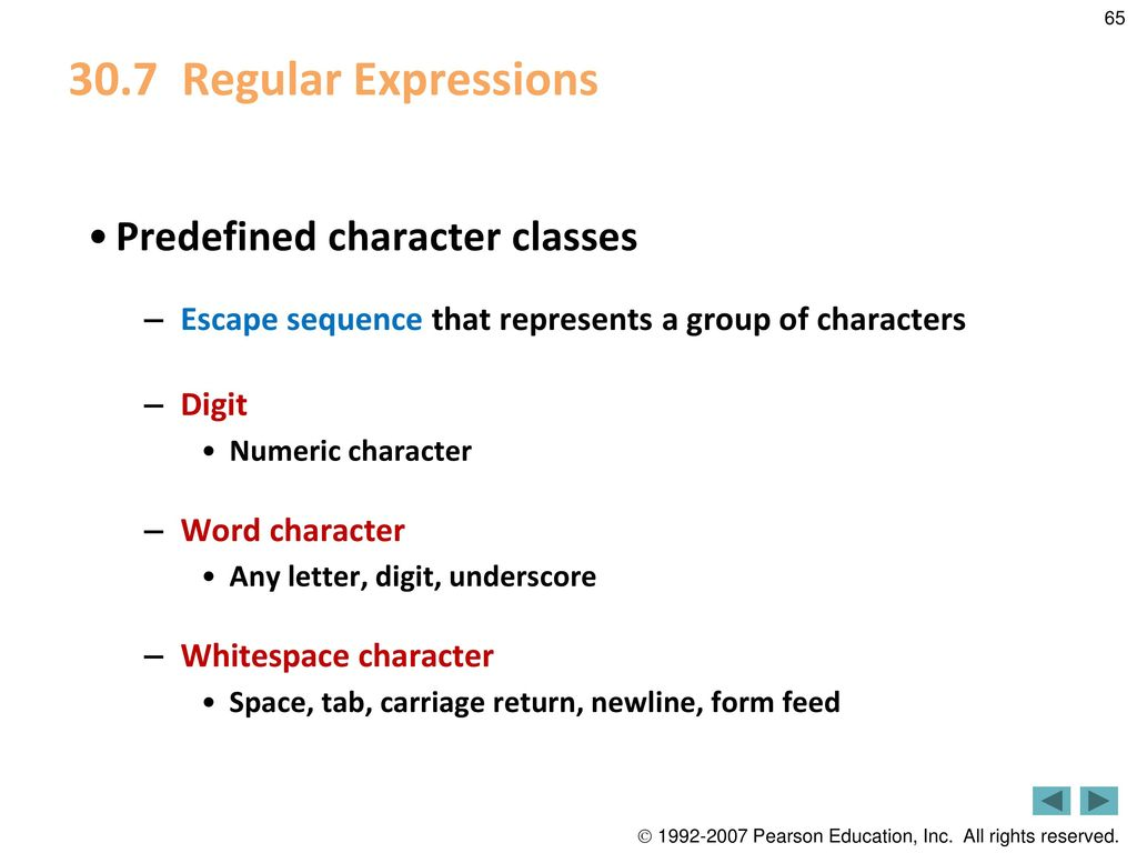Strings, Characters and Regular Expressions - ppt download