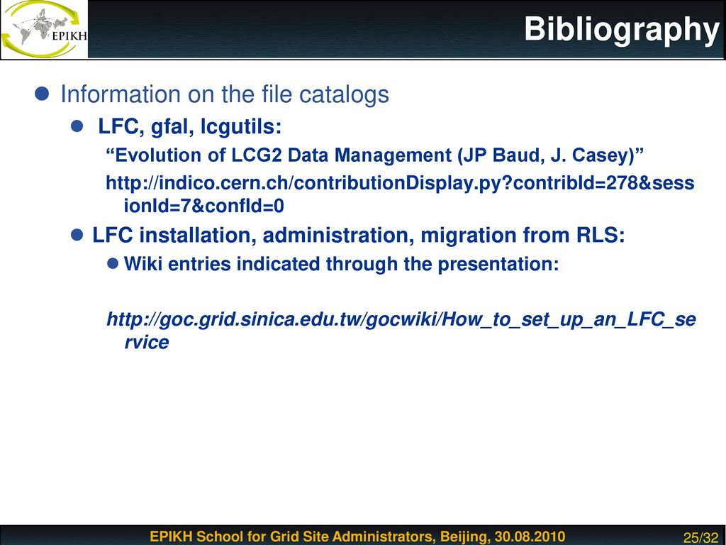LFC Installation and Configuration - ppt download