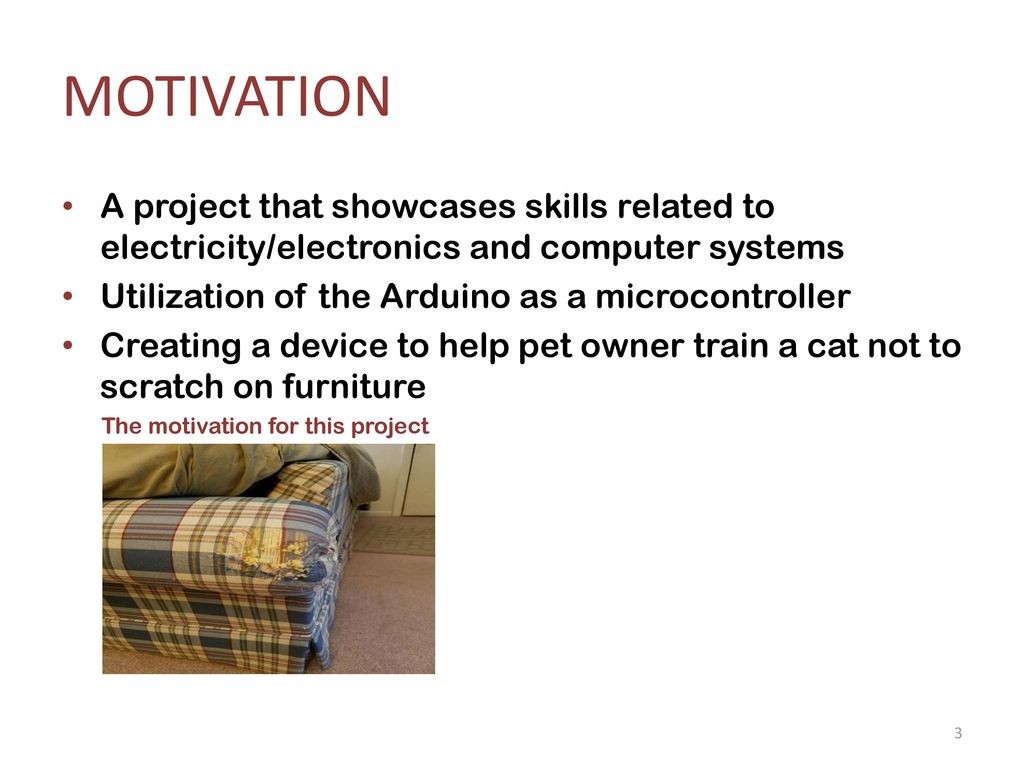 The Claw Alert Feline Training Assistant - ppt download