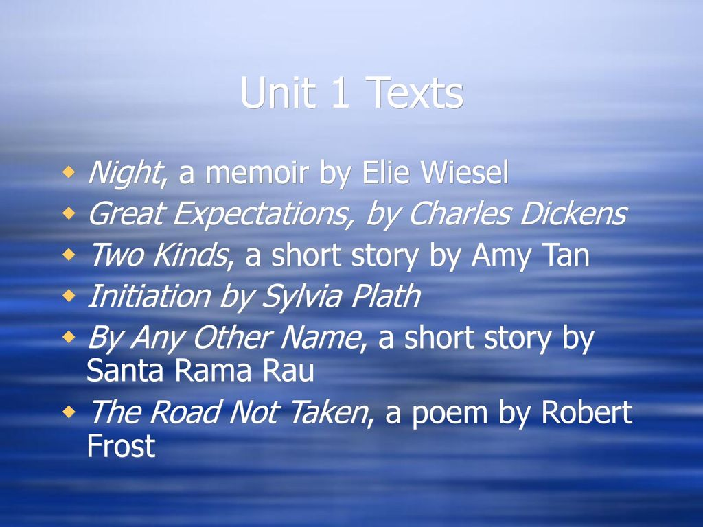 by any other name short story