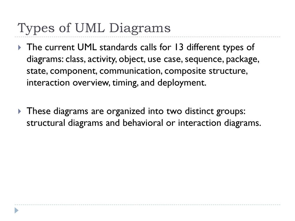 Object Oriented Analysis And Design Ppt Download Objects Use Cases State Diagram Interaction Types Of Uml Diagrams
