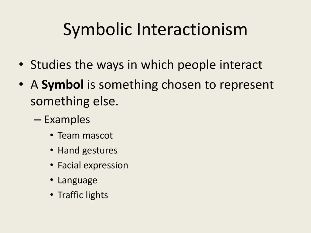 Examples Of Symbolic Interactionism Gallery Example Cover Letter