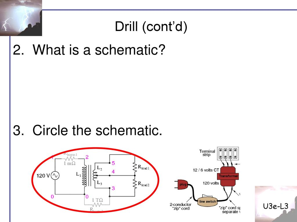U3e L3 Date Drill Why Are The And Symbols Unnecessary When Dc Wiring Diagram Free Picture Schematic 2