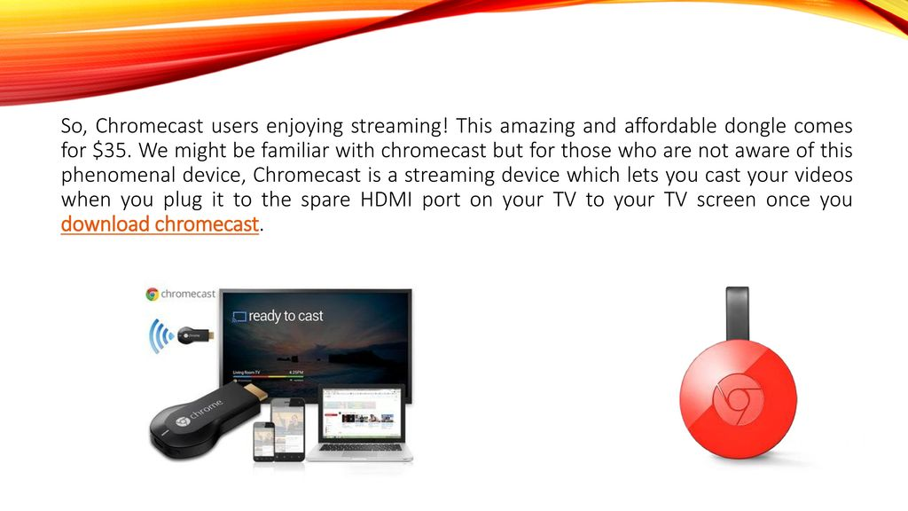 Common Chromecast Issues –Trouble shooting steps for the