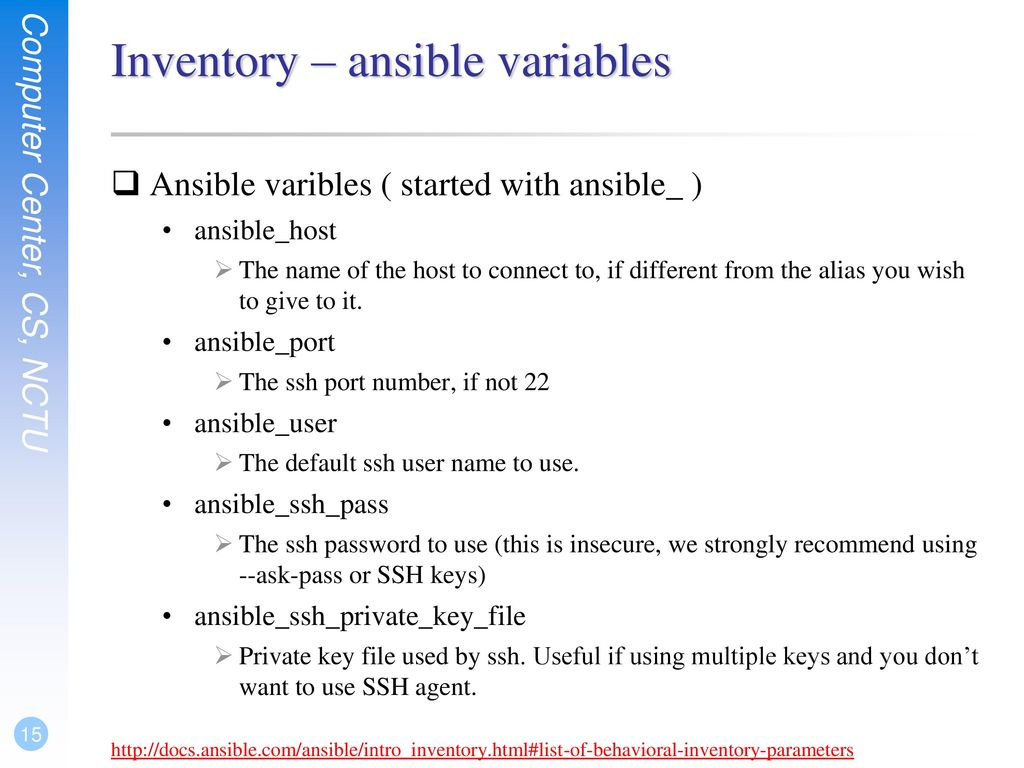 Introduction to Ansible - ppt download