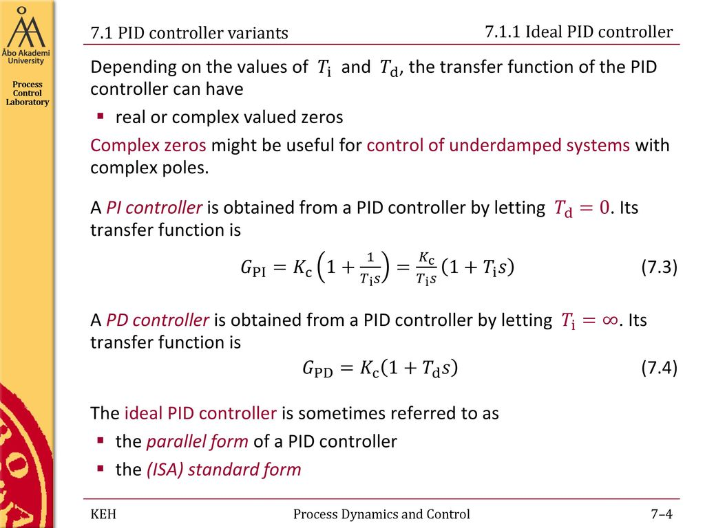 Process Dynamics and Control - ppt download