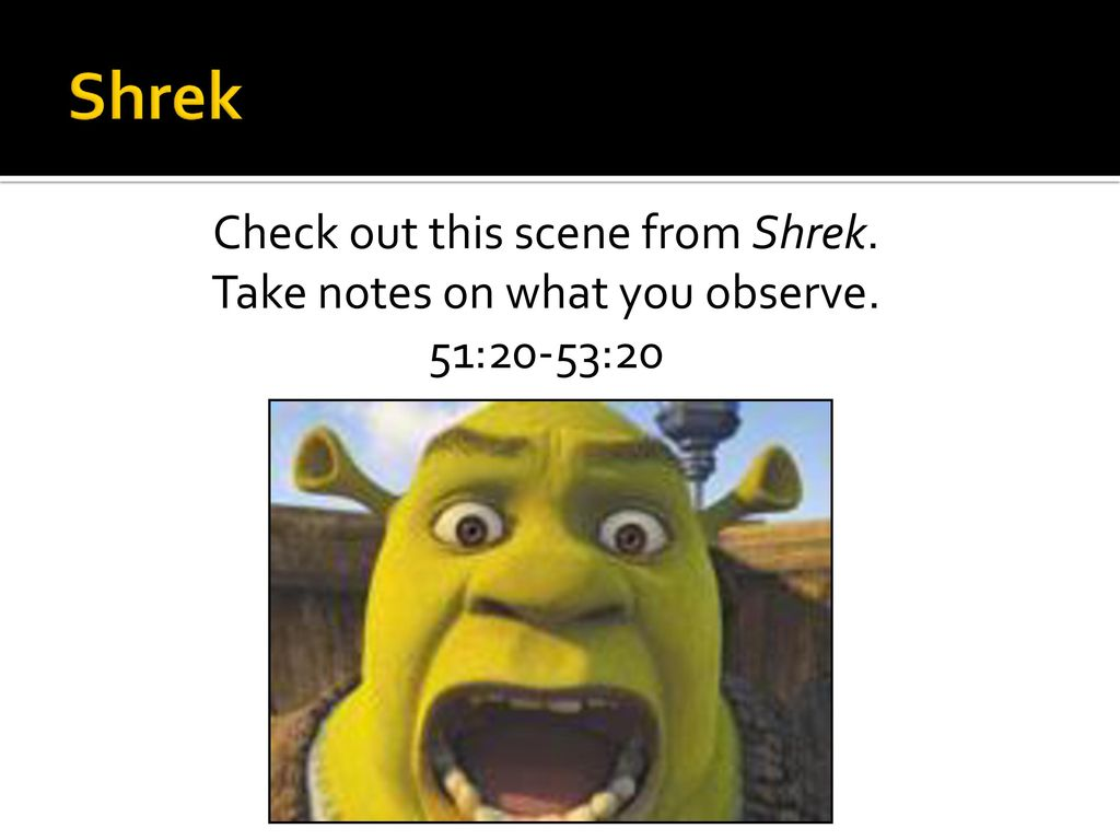 An Introduction To Satire Featuring Shrek Will Ferrell And The