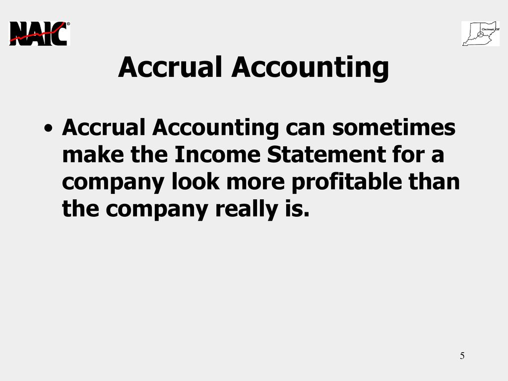 accrual accounting Two types of accounting methods are used for recording business-related financial transactions: accrual and cash basis the accrual method is generally used for larger companies.