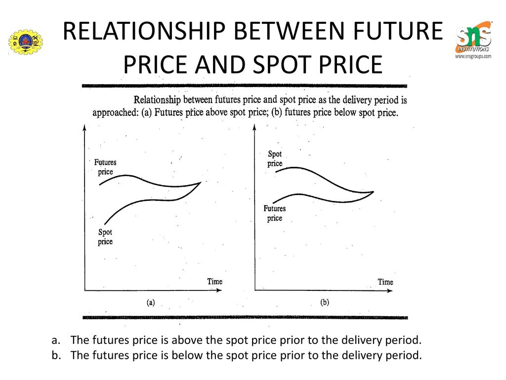 Relationship Between Spot Future Price Ppt